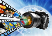 Photography world — Stock Photo