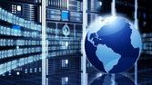 Concetto di tecnologia di informazione — Foto Stock
