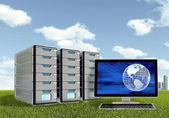 Server Computer Concept — Stock Photo
