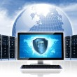 Intenet Security Network - Stock Photo