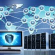 Secured Intenet Network — Stock Photo