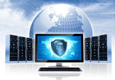 Intenet Security Network — Stock Photo