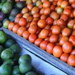 Fresh fruit on Traditional Market — Stock Photo