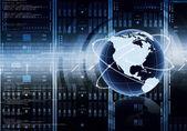 Internet server Concept — Stock Photo