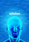 Finding Solution — Stock Photo