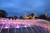 Blue mosque - Istanbul , Turkey — Stock Photo