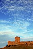 Torre de un castillo medieval — Foto de Stock