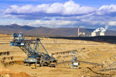 Mining Spatial View of machines. — Stock Photo