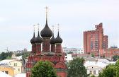 Orthodox temple in the city of Yaroslavl — Стоковое фото