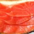 Stock Photo: Sandwich with red fish trout