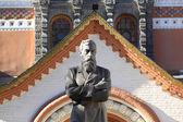 The monument to Pavel Mikhailovich Tretyakov — Stock Photo