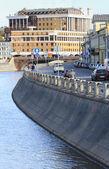在莫斯科的排水通道 — 图库照片