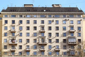 Old high-rise building in Moscow — Stock Photo
