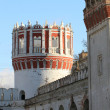 Stock Photo: Novodevechy monastery tower in Moscow