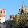 Church and Tower of the Novodevichy Convent — Stock Photo