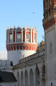Novodevechy monastery tower in Moscow — Foto Stock