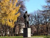 Monument to Maxim Gorky — Stock Photo