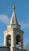 Zvonice pravoslavné církve — Stock fotografie