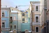здание в москве — Стоковое фото