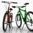 Royalty-Free Stock Photo: Two bicycles.