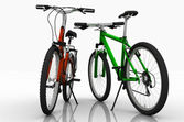 Two bicycles. — Stock Photo