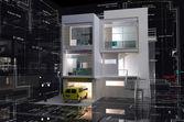 Model domu — Zdjęcie stockowe