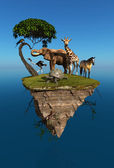 Animales salvajes — Foto de Stock