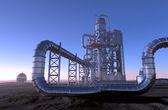 Chemical plant — Zdjęcie stockowe