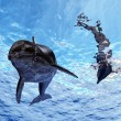 Stock Photo: Dolphins