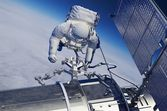 The astronaut — Stock Photo