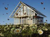 Moderní domek — Stock fotografie
