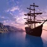 o navio — Foto Stock