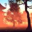 Stock Photo: Chinese house
