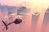 Hélicoptère civil — Photo