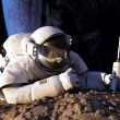 The astronaut — Stockfoto