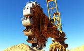 L'escavatore — Foto Stock