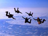 Sport in the sky. — Stock Photo
