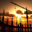 Construction of a building — Stock Photo #34169015