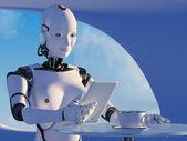 O robô — Fotografia Stock