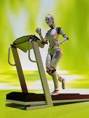 Treadmill. — Stock Photo