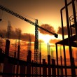 Construction of a building  — Stockfoto