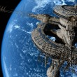 Foto Stock: Space station
