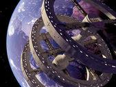 Space station — Stock fotografie