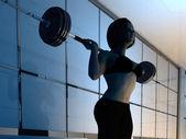Weightlifting. — Stock fotografie