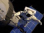 那位宇航员 — 图库照片