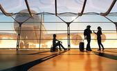 Havaalanı — Stok fotoğraf