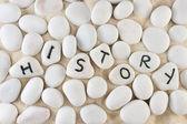 Parola di storia — Foto Stock