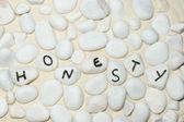 Palavra de honestidade — Foto Stock