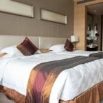 Hotel bedroom — Stock Photo #13178813