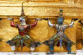 Wat Phra Keo, Bangkok Thailand — Stock Photo
